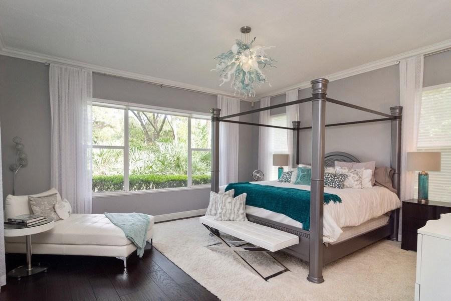 Real Estate Photography - 4285 SE Frazier Court, Stuart, FL, 34997 - Master Bedroom
