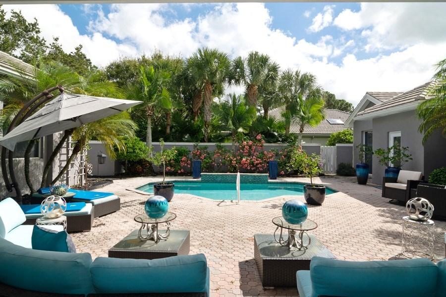 Real Estate Photography - 4285 SE Frazier Court, Stuart, FL, 34997 - Courtyard