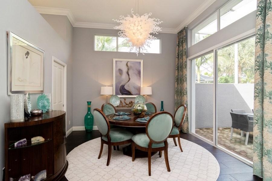 Real Estate Photography - 4285 SE Frazier Court, Stuart, FL, 34997 - Dining Room