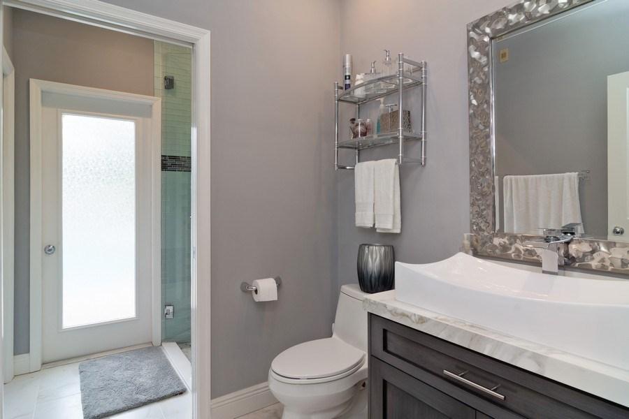 Real Estate Photography - 4285 SE Frazier Court, Stuart, FL, 34997 - Guest House Bathroom