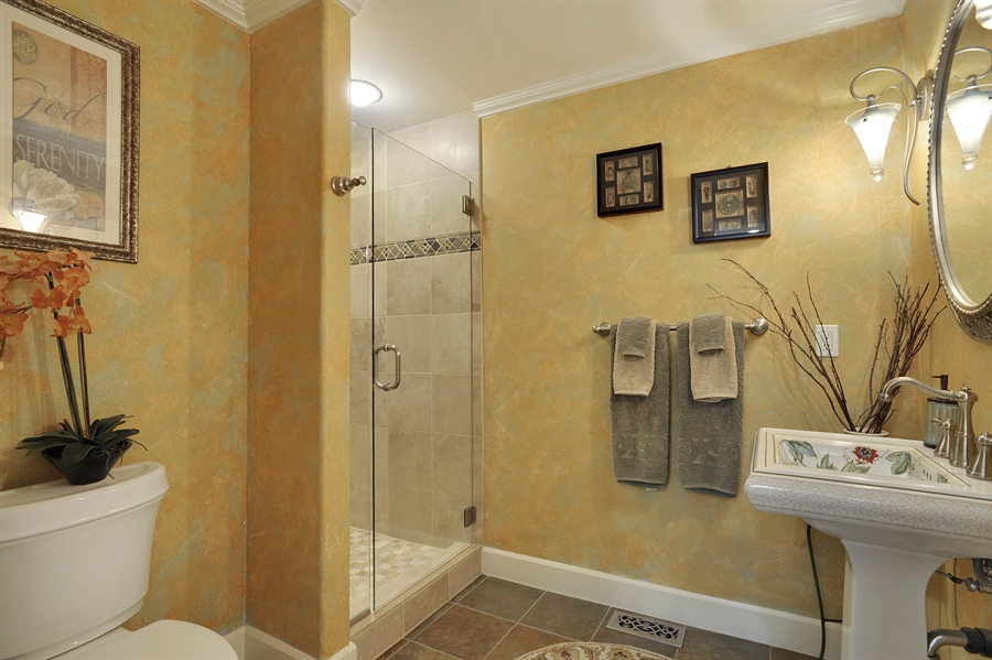 Real Estate Photography - 4470 142nd Ave SE, Bellevue, WA, 98006 - 2nd Bathroom