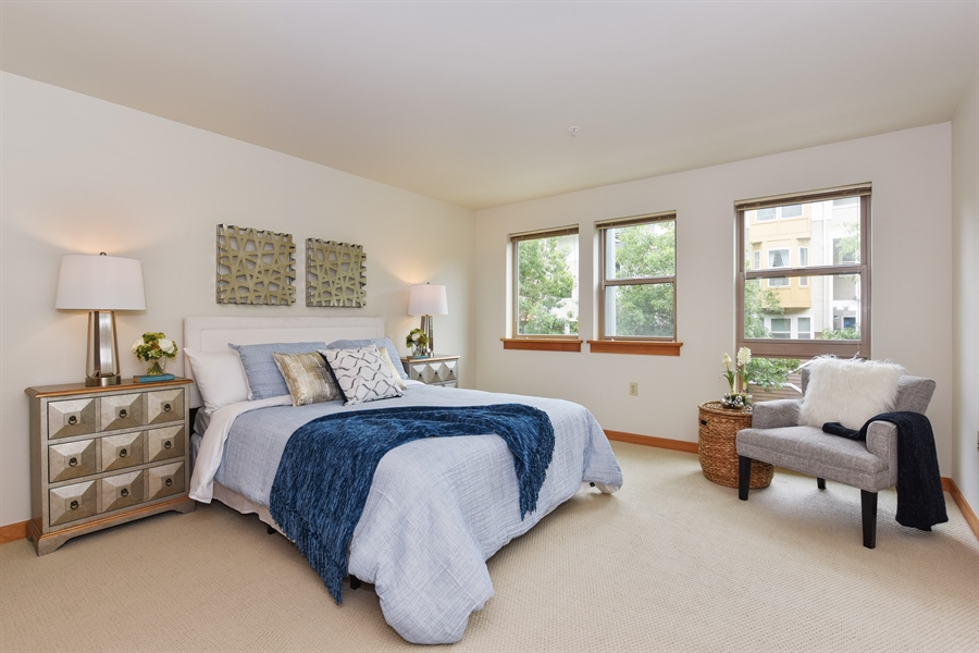 Real Estate Photography - 827 Hiawatha Pl S, 214, Seattle, WA, 98144 - Master Bedroom