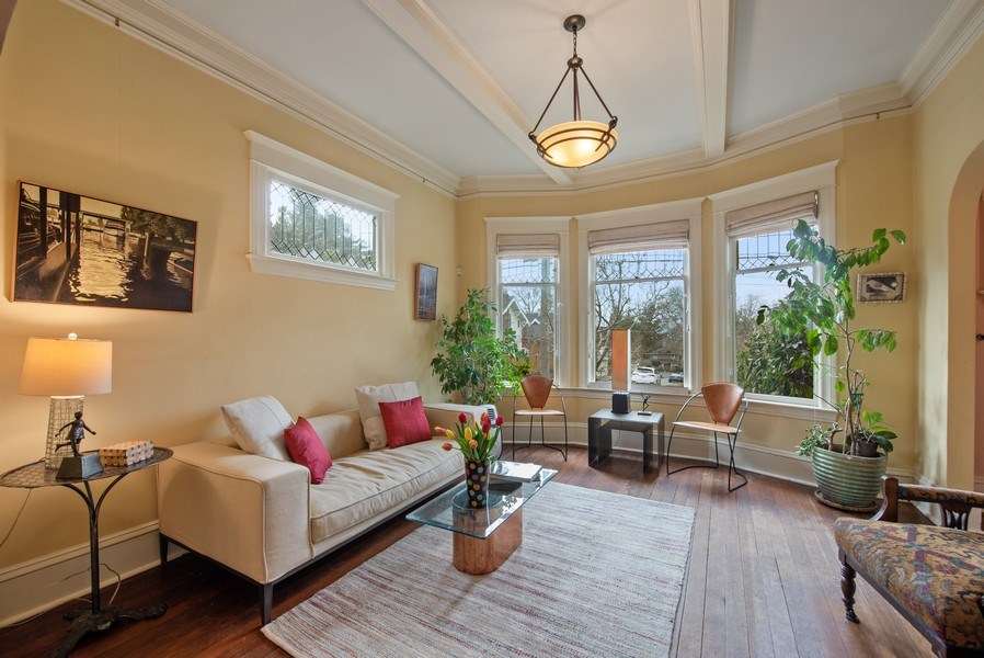 Real Estate Photography - 2602 9th Ave W, Seattle, WA, 98119 - Living Room