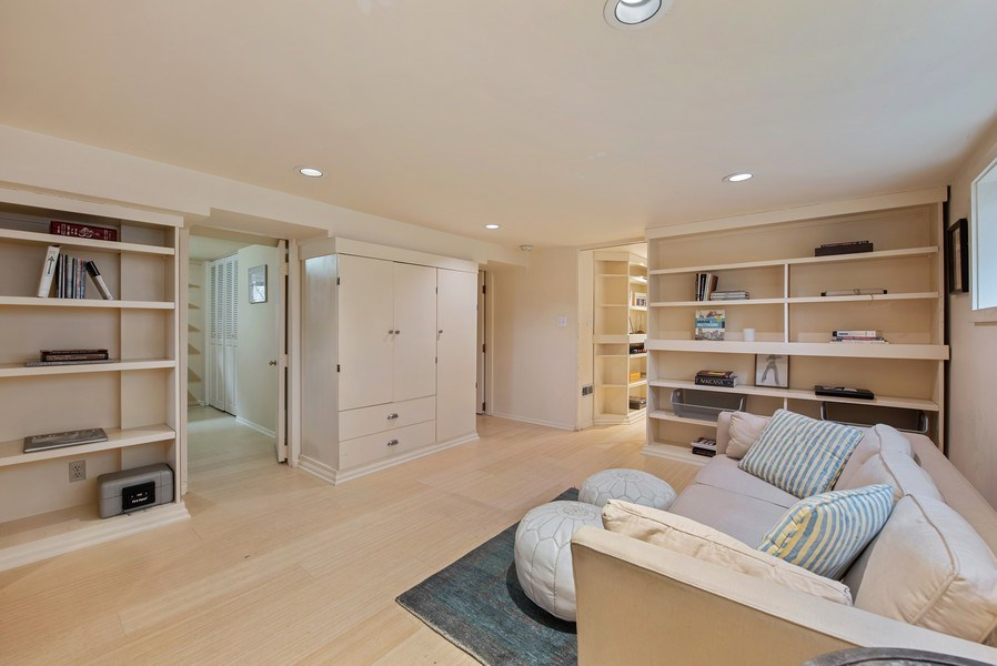 Real Estate Photography - 2602 9th Ave W, Seattle, WA, 98119 - Family Room builtins