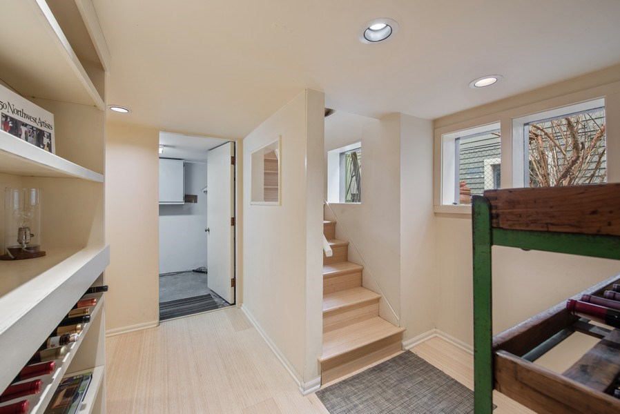 Real Estate Photography - 2602 9th Ave W, Seattle, WA, 98119 - Staircase