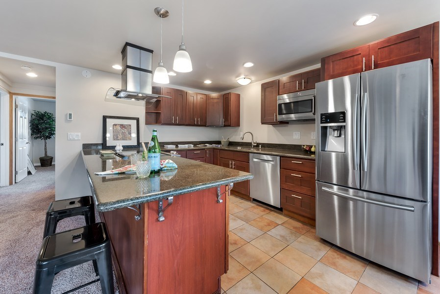 Real Estate Photography - 3834 175th Avenue Northeast #A-301, Redmond, WA, 98052 - Kitchen