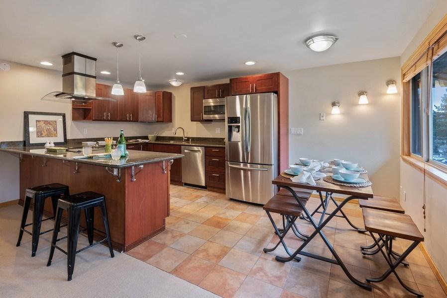 Real Estate Photography - 3834 175th Avenue Northeast #A-301, Redmond, WA, 98052 - Kitchen / Breakfast Room