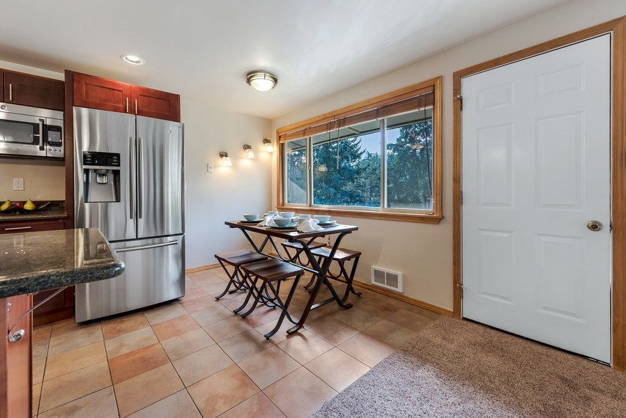 Real Estate Photography - 3834 175th Avenue Northeast #A-301, Redmond, WA, 98052 - Dining Room