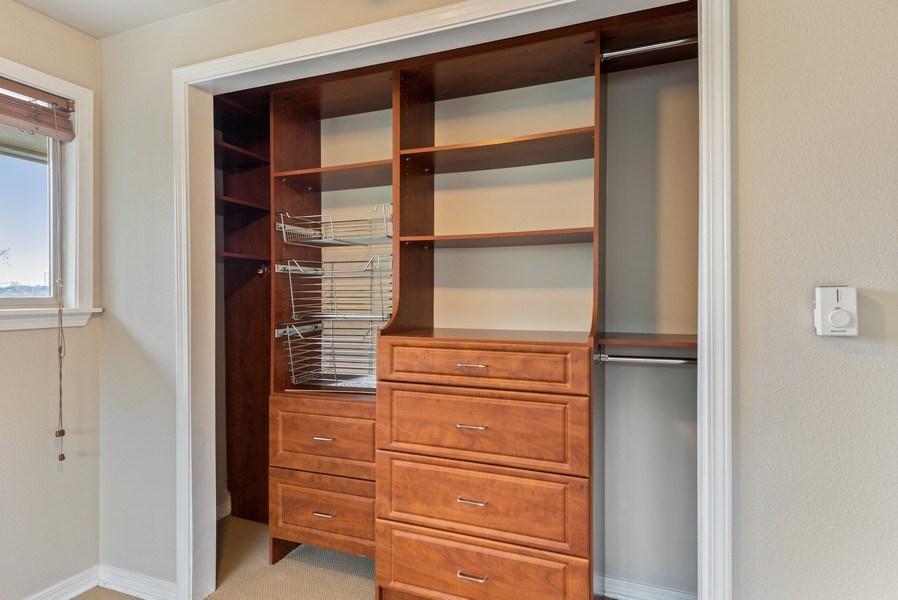Real Estate Photography - 3834 175th Avenue Northeast #A-301, Redmond, WA, 98052 - Master Bedroom Closet