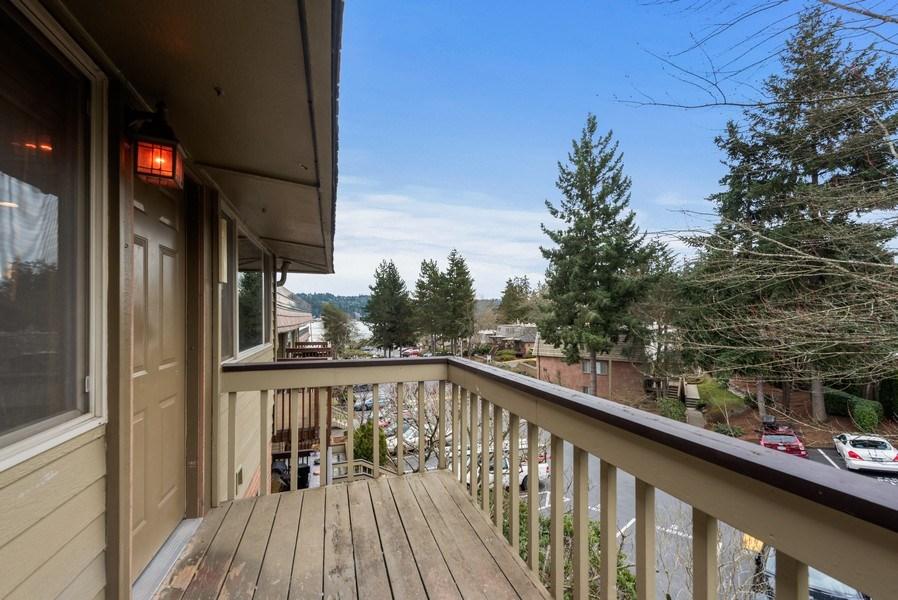 Real Estate Photography - 3834 175th Avenue Northeast #A-301, Redmond, WA, 98052 - Deck
