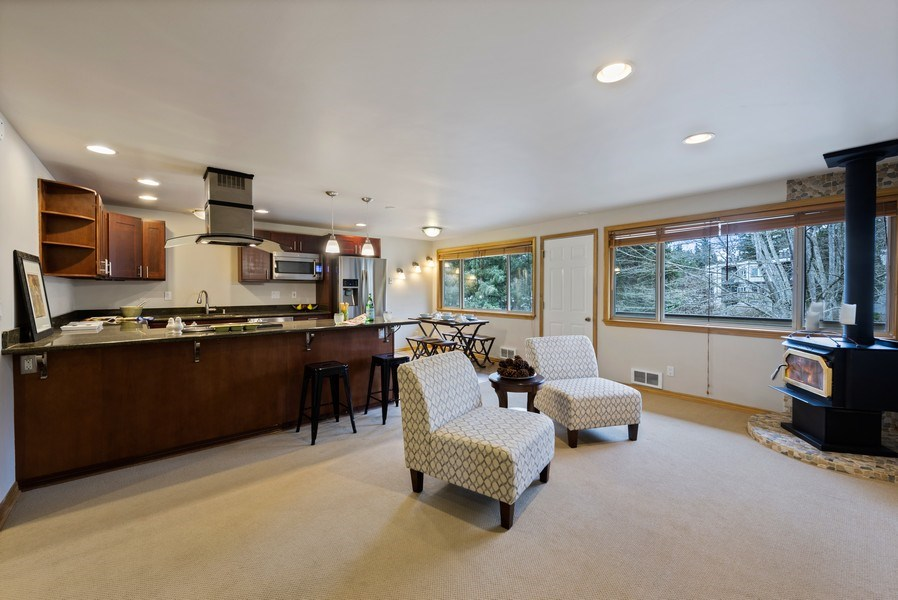 Real Estate Photography - 3834 175th Avenue Northeast #A-301, Redmond, WA, 98052 - Kitchen / Living Room