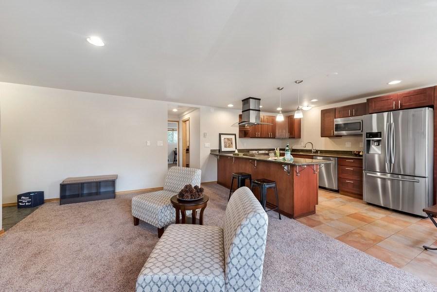 Real Estate Photography - 3834 175th Avenue Northeast #A-301, Redmond, WA, 98052 - Kitchen/Living