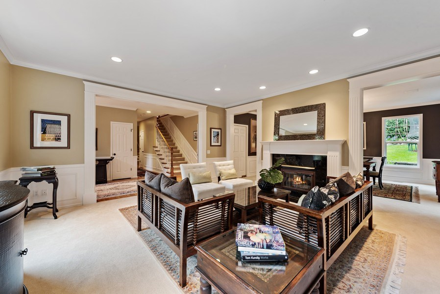 Real Estate Photography - 2401 100th Ave NE, Bellevue, WA, 98004 - Living Room