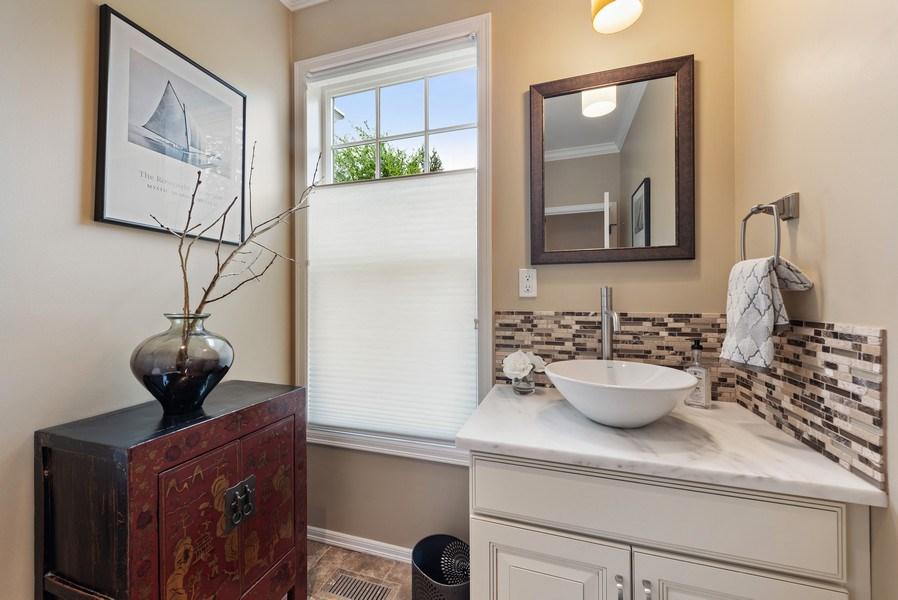 Real Estate Photography - 2401 100th Ave NE, Bellevue, WA, 98004 - Powder Room