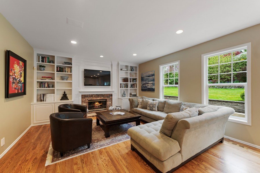 Real Estate Photography - 2401 100th Ave NE, Bellevue, WA, 98004 - Family Room