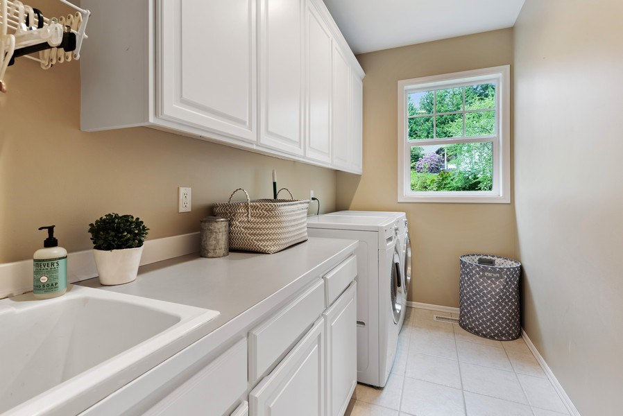 Real Estate Photography - 2401 100th Ave NE, Bellevue, WA, 98004 - Laundry Room