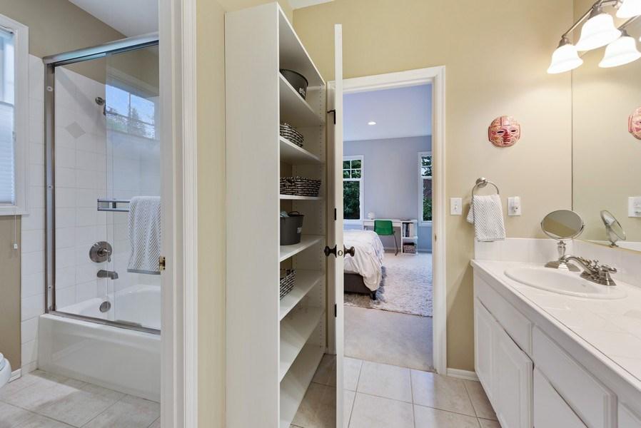 Real Estate Photography - 2401 100th Ave NE, Bellevue, WA, 98004 - 2nd Bathroom