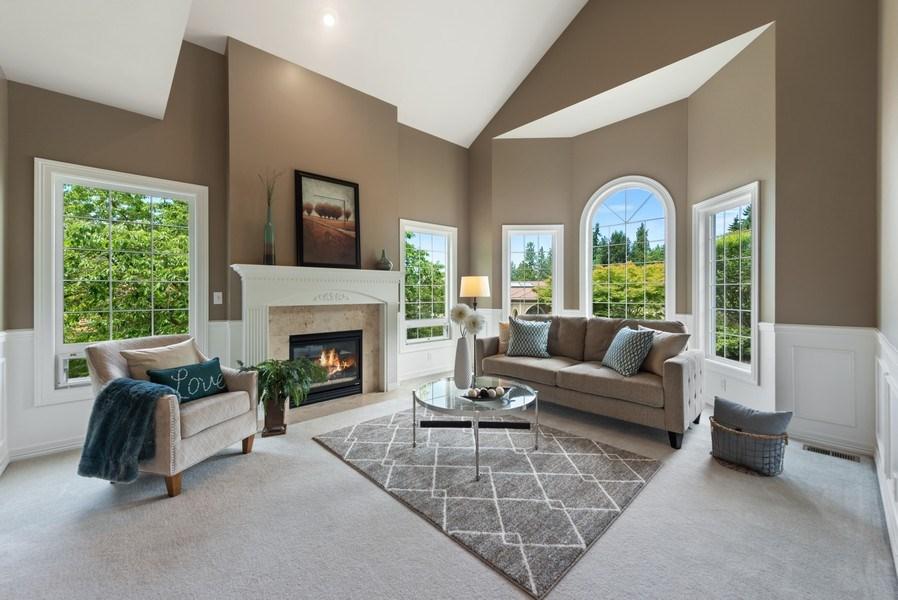 Real Estate Photography - 13804 64th Pl NE, Kirkland, WA, 98034 - Living Room
