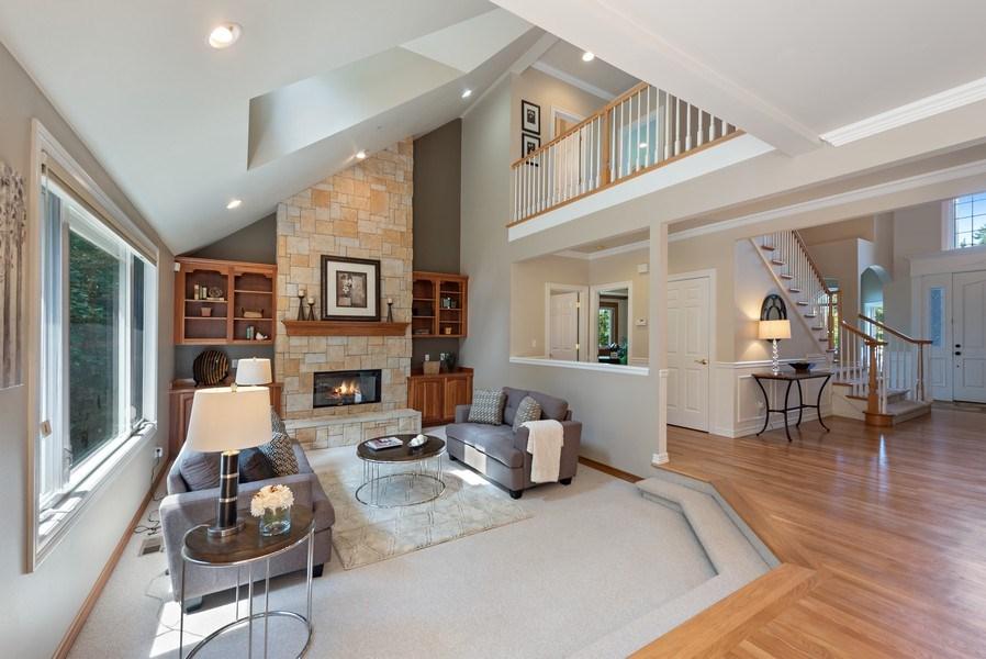 Real Estate Photography - 13804 64th Pl NE, Kirkland, WA, 98034 - Family Room