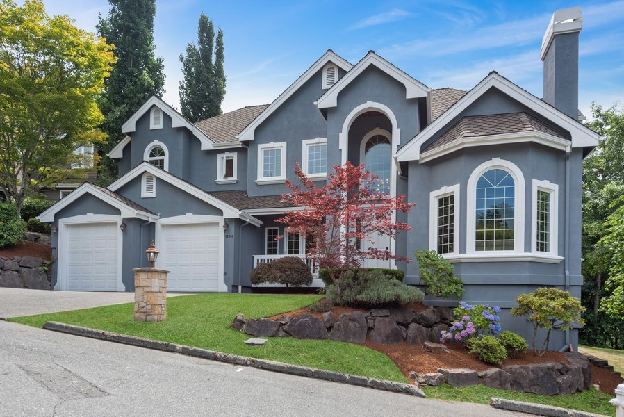 Real Estate Photography - 13804 64th Pl NE, Kirkland, WA, 98034 - Front View