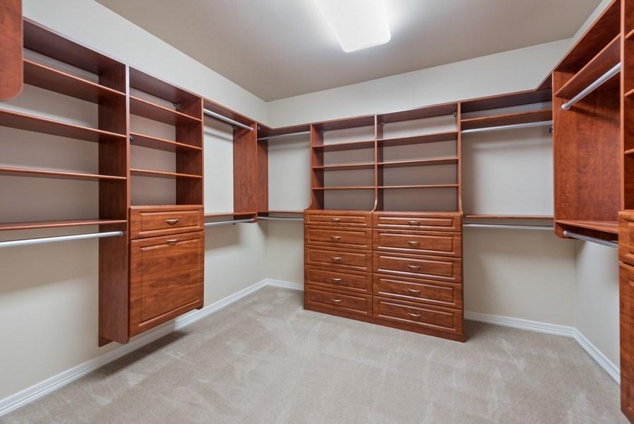 Real Estate Photography - 13804 64th Pl NE, Kirkland, WA, 98034 - Master Bedroom Closet