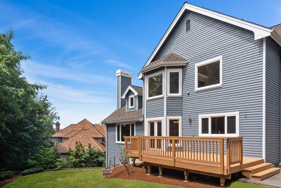 Real Estate Photography - 13804 64th Pl NE, Kirkland, WA, 98034 - Rear View