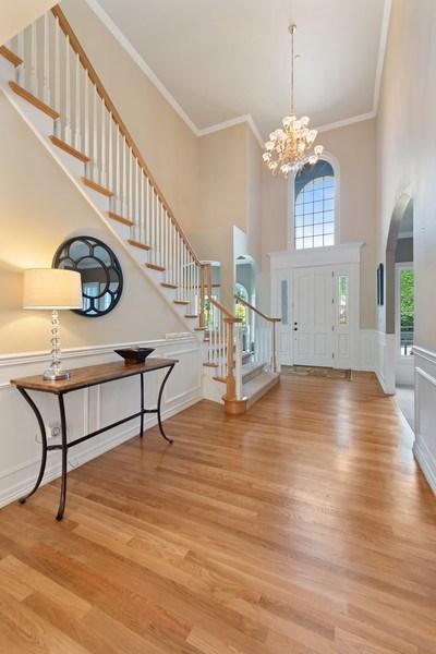 Real Estate Photography - 13804 64th Pl NE, Kirkland, WA, 98034 - Staircase