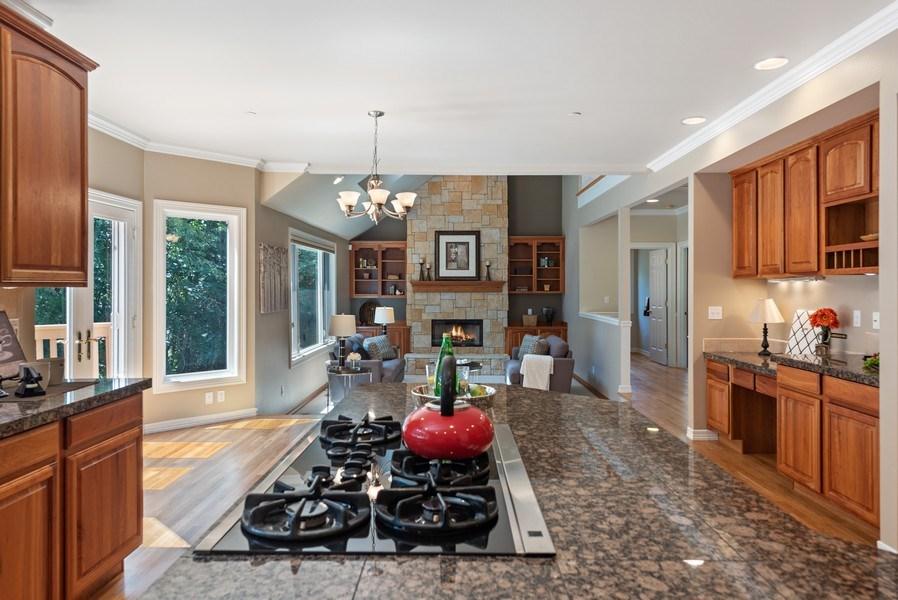 Real Estate Photography - 13804 64th Pl NE, Kirkland, WA, 98034 - Family Room / Kitchen