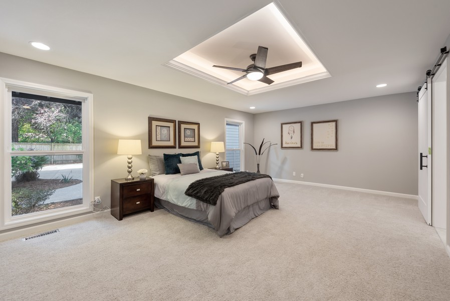 Real Estate Photography - 9628 NE 200th St, Bothell, WA, 98011 - Master Bedroom