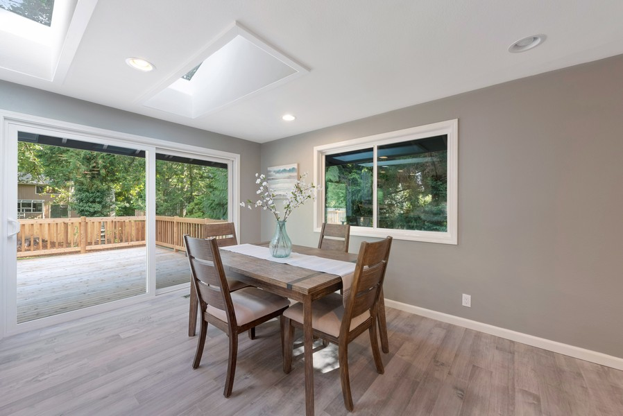 Real Estate Photography - 9628 NE 200th St, Bothell, WA, 98011 - Dining Room