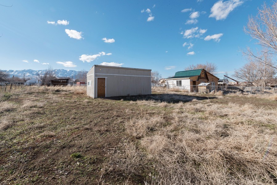 Real Estate Photography - 140 S Park St, Grantsville, UT, 84029 - Back Yard