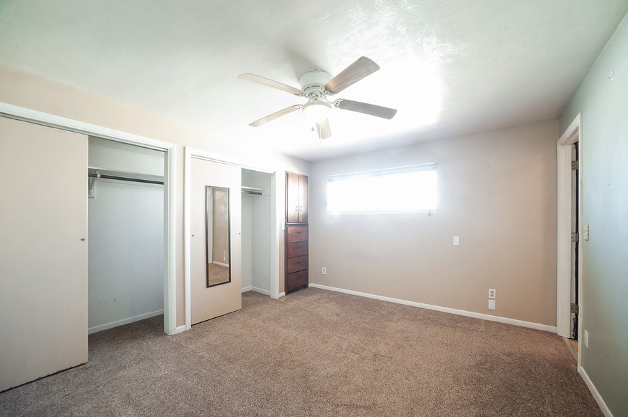 Real Estate Photography - 91 E Lagoon St, Roosevelt, UT, 84066 - Master Bedroom