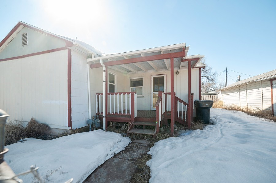 Real Estate Photography - 91 E Lagoon St, Roosevelt, UT, 84066 - Rear View