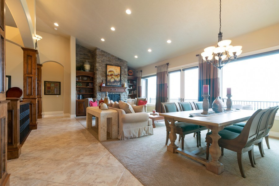 Real Estate Photography - 2364 S Shorewood Dr., Saratoga Springs, UT, 84045 - Living Room