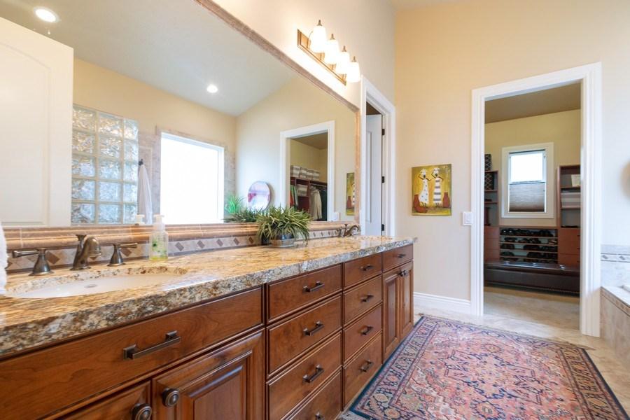 Real Estate Photography - 2364 S Shorewood Dr., Saratoga Springs, UT, 84045 - Master Bathroom