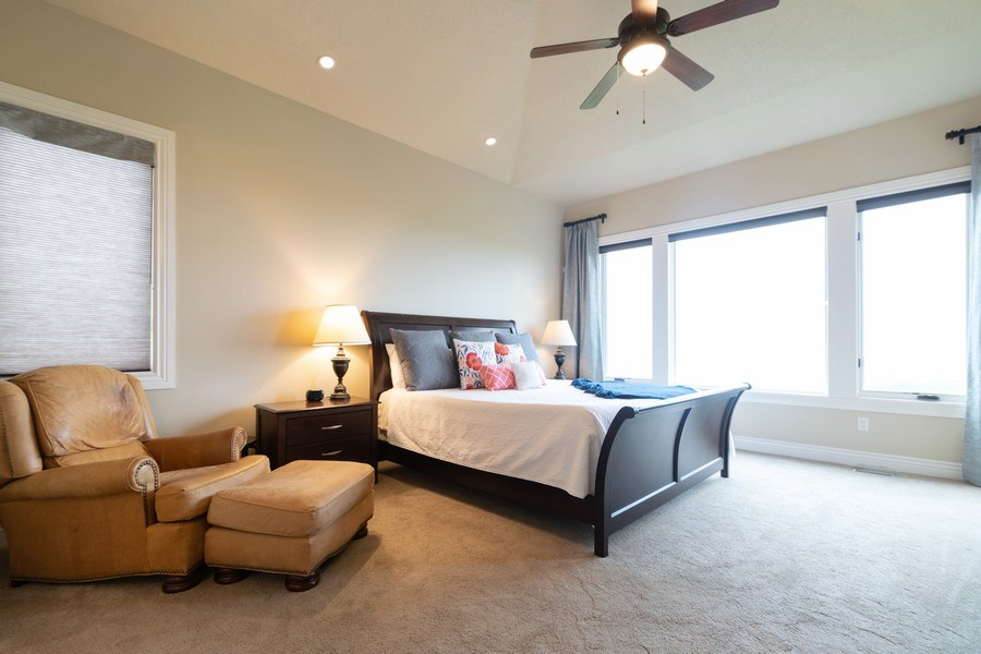 Real Estate Photography - 2364 S Shorewood Dr., Saratoga Springs, UT, 84045 - Master Bedroom