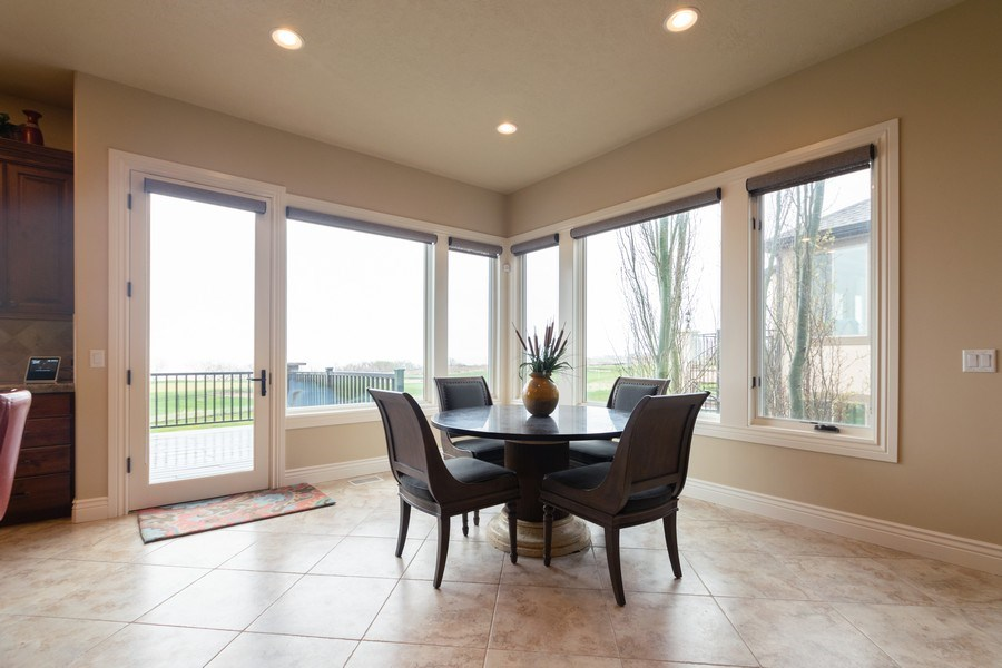 Real Estate Photography - 2364 S Shorewood Dr., Saratoga Springs, UT, 84045 - Dining Room