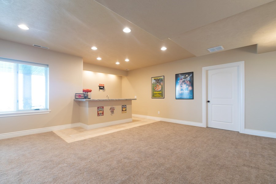 Real Estate Photography - 2364 S Shorewood Dr., Saratoga Springs, UT, 84045 - Family Room