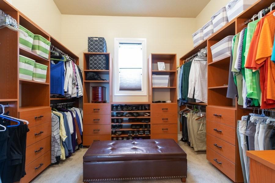 Real Estate Photography - 2364 S Shorewood Dr., Saratoga Springs, UT, 84045 - Master Bedroom Closet