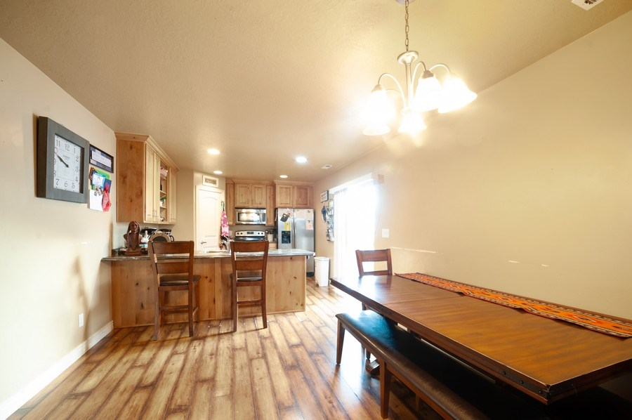 Real Estate Photography - 470 E South Poco Dr, Roosevelt, UT, 84066 - Dining Room