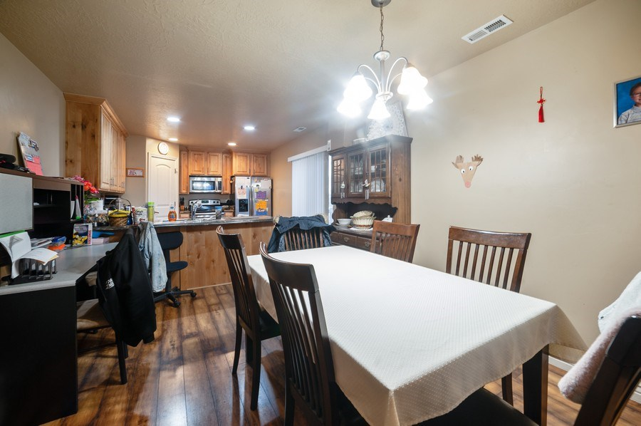 Real Estate Photography - 480 E South Poco Dr, Roosevelt, UT, 84066 - Dining Room
