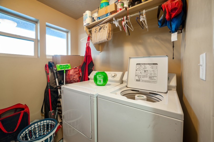 Real Estate Photography - 480 E South Poco Dr, Roosevelt, UT, 84066 - Laundry Room