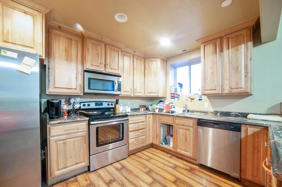 Real Estate Photography - 480 E South Poco Dr, Roosevelt, UT, 84066 - Kitchen/Dining