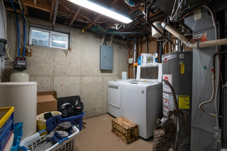 Real Estate Photography - 229 West 800 South, Bountiful, UT, 84010 - Laundry Room