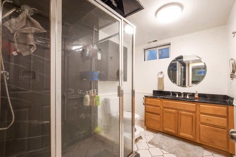 Real Estate Photography - 229 West 800 South, Bountiful, UT, 84010 - 2nd Bathroom