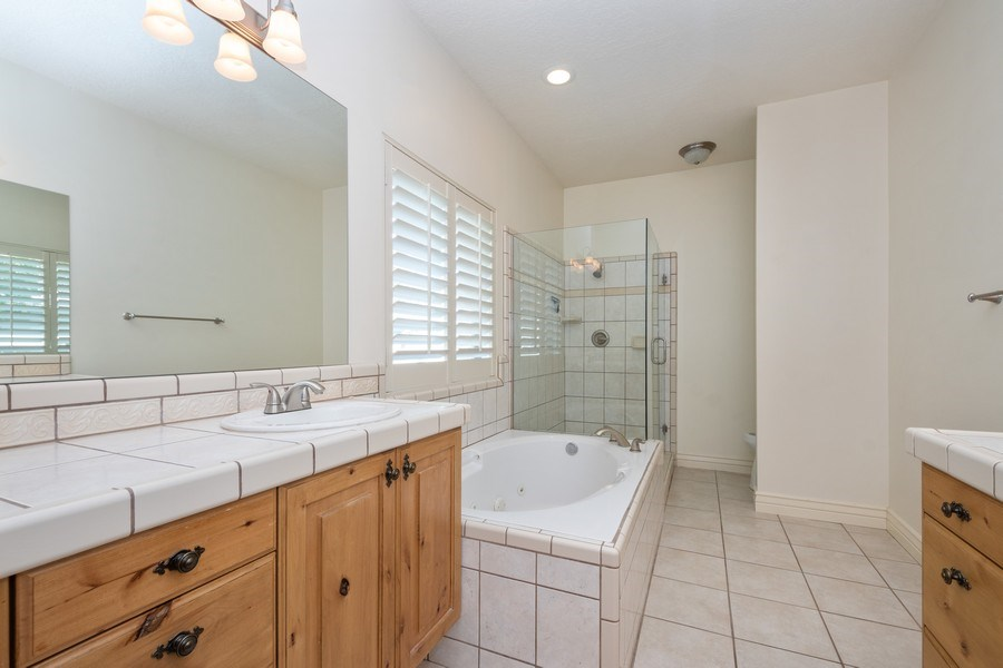 Real Estate Photography - 1826 E Cottonwood Glen Ct, Holladay, UT, 84117 - Master Bathroom