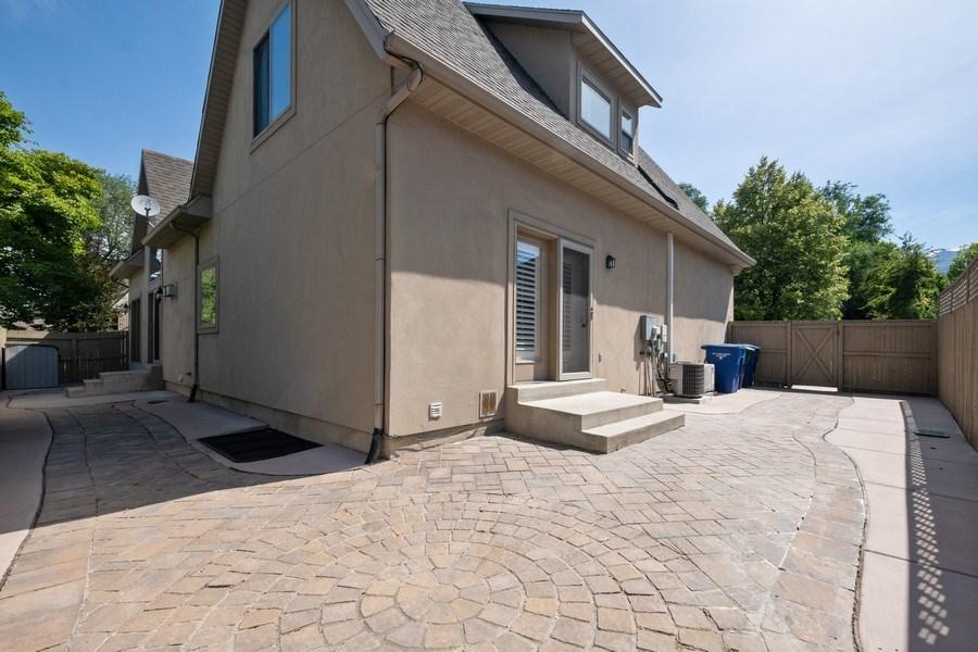 Real Estate Photography - 1826 E Cottonwood Glen Ct, Holladay, UT, 84117 - Back Yard