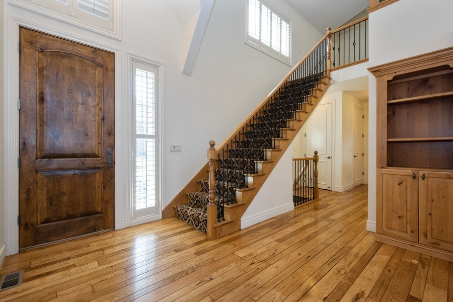 Real Estate Photography - 1826 E Cottonwood Glen Ct, Holladay, UT, 84117 - Staircase