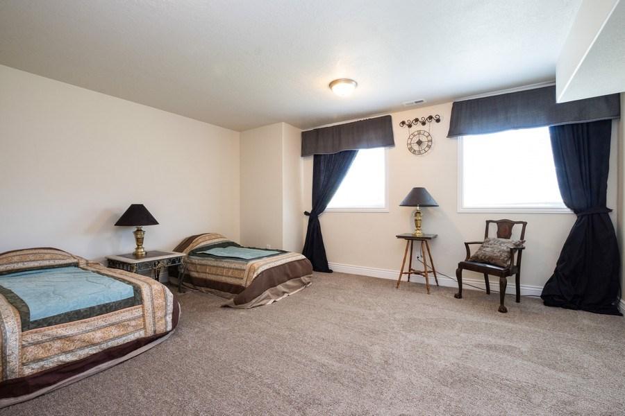 Real Estate Photography - 14956 S Cedar Falls Dr, Herriman, UT, 84096 - 3rd Bedroom