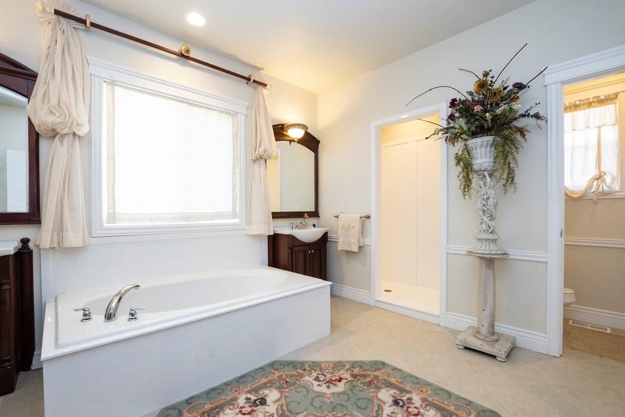 Real Estate Photography - 14956 S Cedar Falls Dr, Herriman, UT, 84096 - Master Bathroom